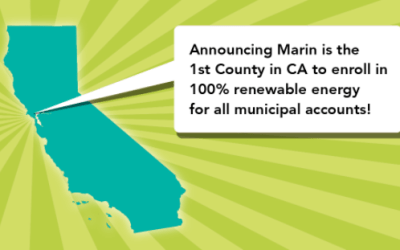MCE Celebrates Marin's First for California