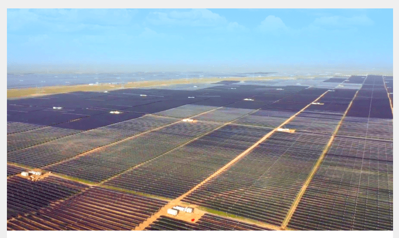 2nd Largest Solar Farm in World Goes Online in China