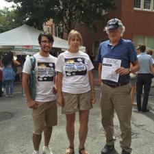 350 Philly volunteers