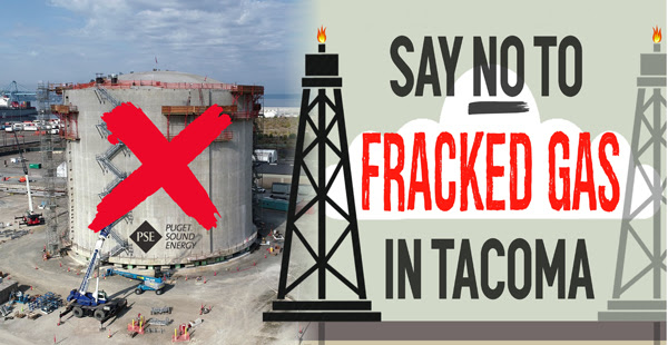 Say No to Fracked Gas in Tacoma