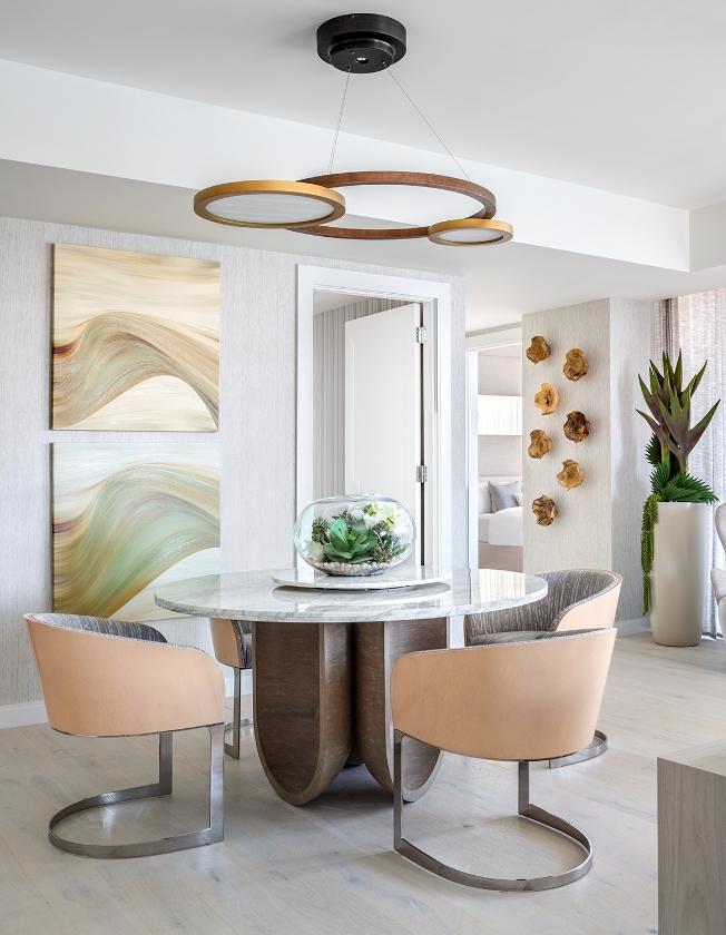 3550 South Ocean Condo - Dining Room