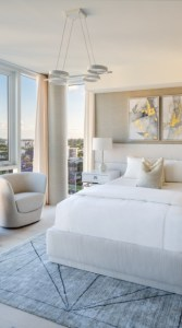 Guest Room in a 3550 South Ocean Condo Residence