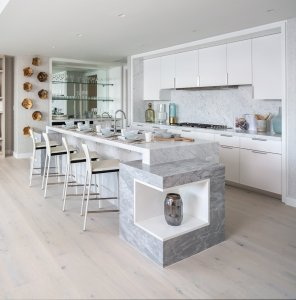 Residences at 3550 South Ocean with a Spacious Kitchen
