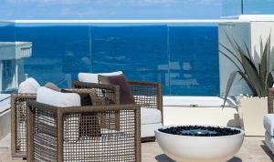 Luxury Outdoor Amenities at 3550 South Ocean Condos