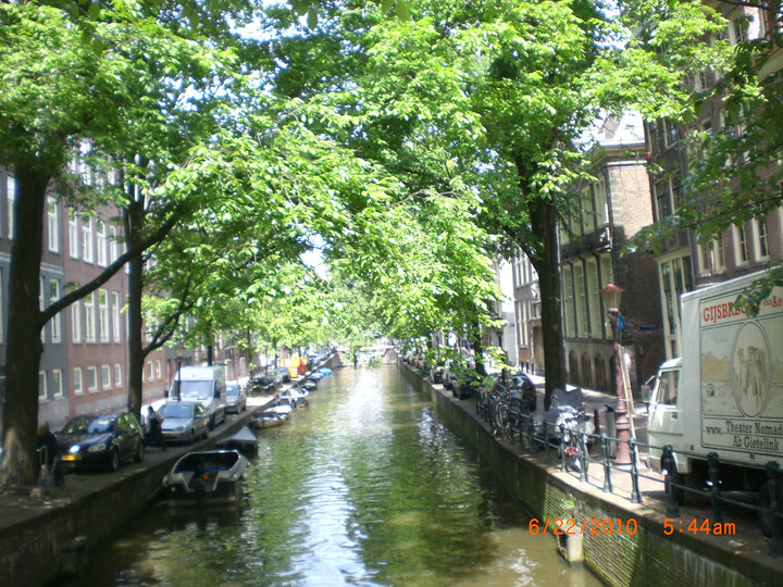 Beautiful canals - Amsterdam