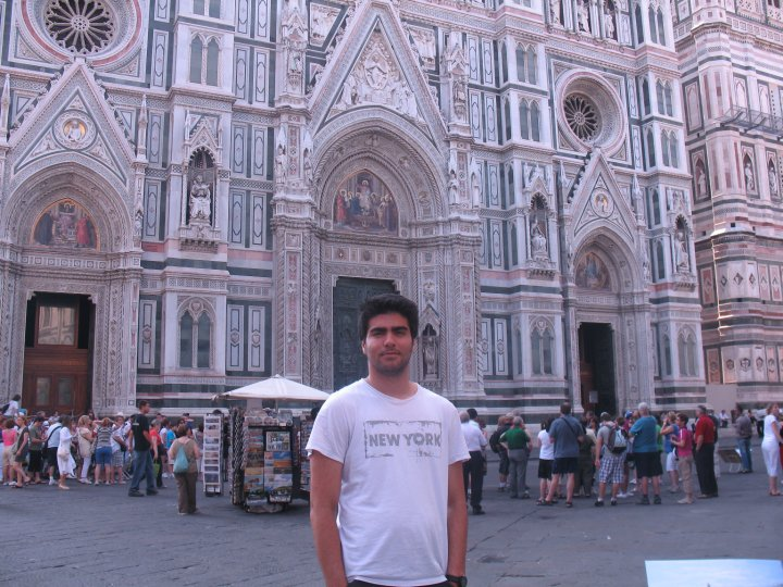 In front of Il Duomo