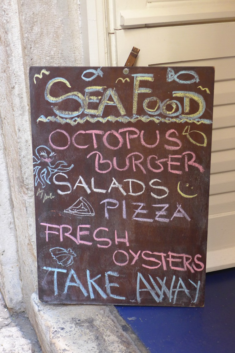 "Words like ""octopus burger"" don't easily escape my sight"