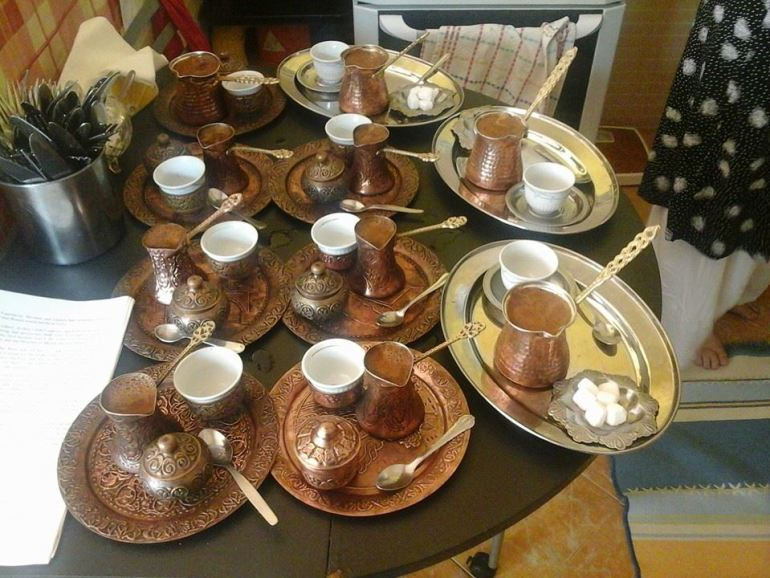 Afternoon Bosnian coffee time