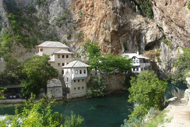 Final stop – Blagaj Dervish monastery