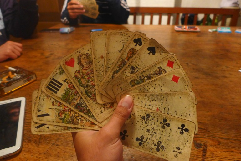 Old deck of cards