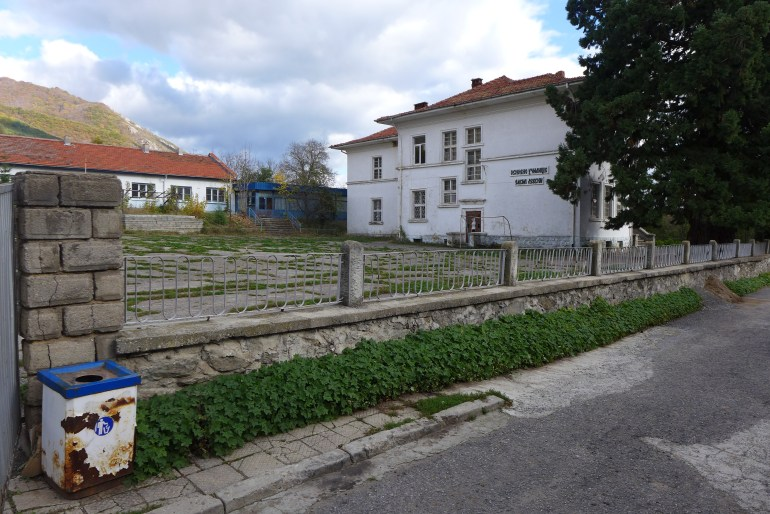 Elementary school in the village center