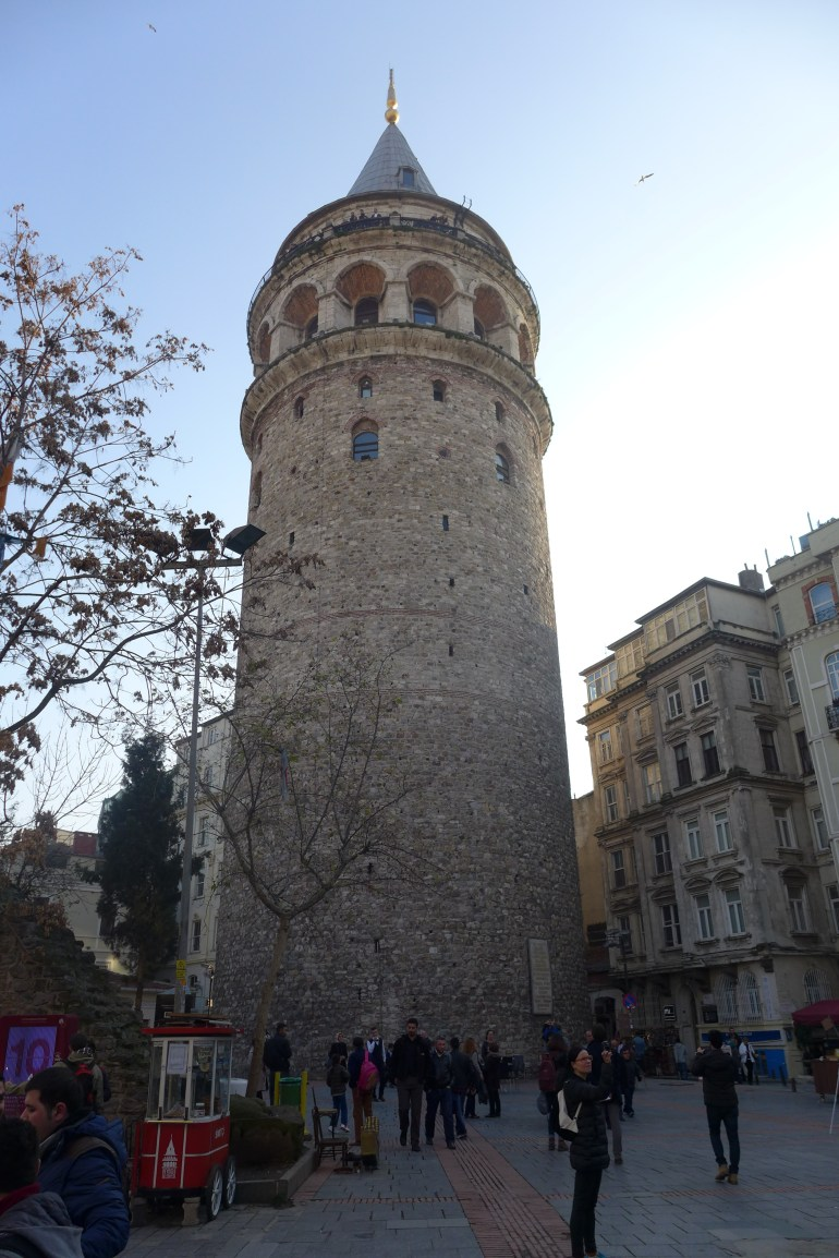 Shots of Galata Tower