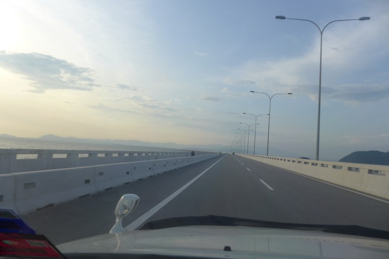 12th longest motor vehicle bridge in the world at 24 kilometers long