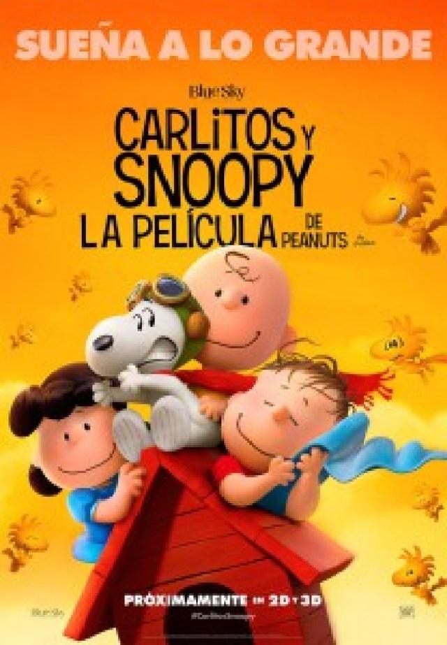 CARLITOS Y SNOOPY POSTER