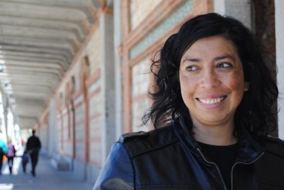 Tatiana Huezo en Matadero, sede de DocumentaMadrid.