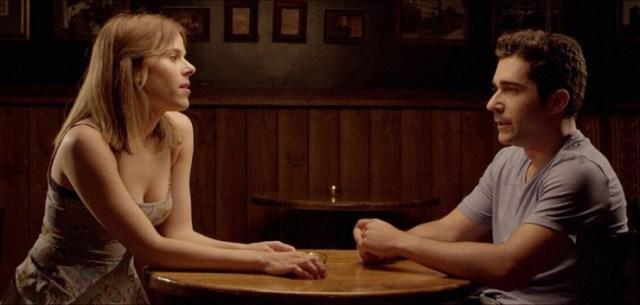 Irene (Ann Perelló) y Toni (Edu Ferrés) en 'Amor Tñoxico'