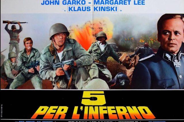cinco para el infierno cine italiano
