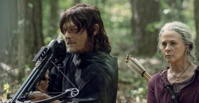 Fotograma de la serie 'The walking dead'