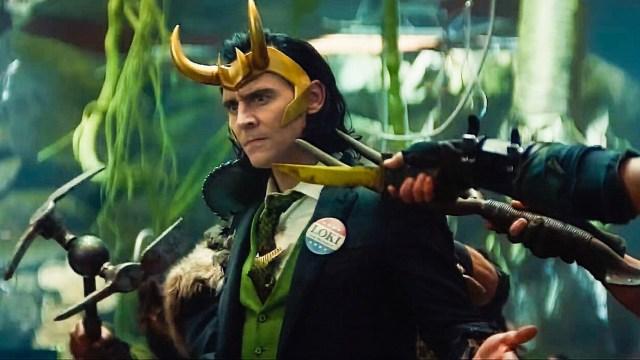 Fotograma de la serie 'Loki' de Disney+