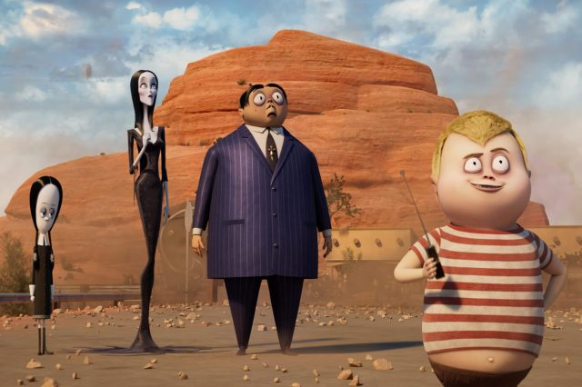 Fotograma de 'La familia Addams 2: La gran escapada'