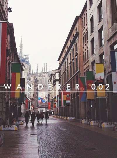 WANDERER 002 | Where to shop in Milan