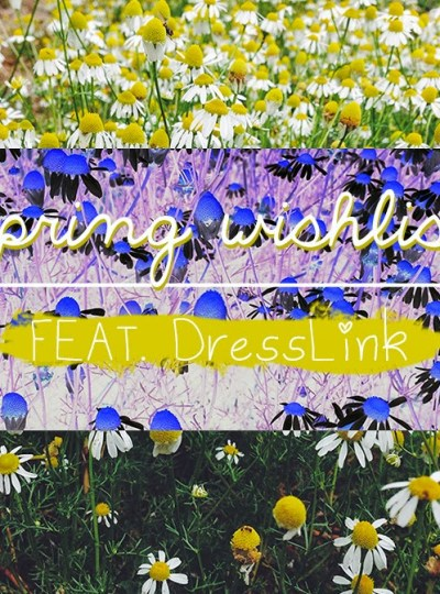 INSPO 004 | Spring Wishlist with DressLink ad