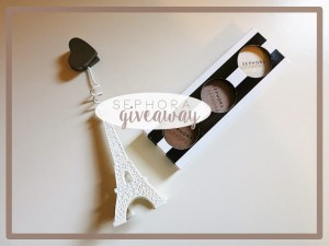GIVEAWAY | Sephora Eye-Shadow
