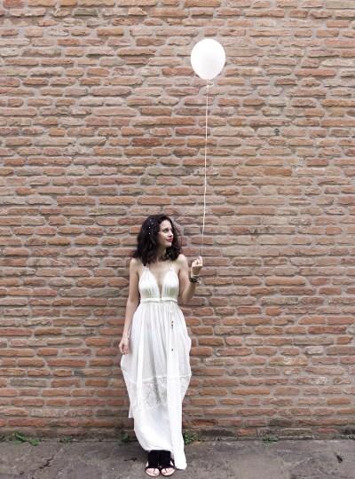 The Boho White Dress