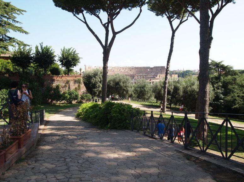 Palatine Hill Colosseum