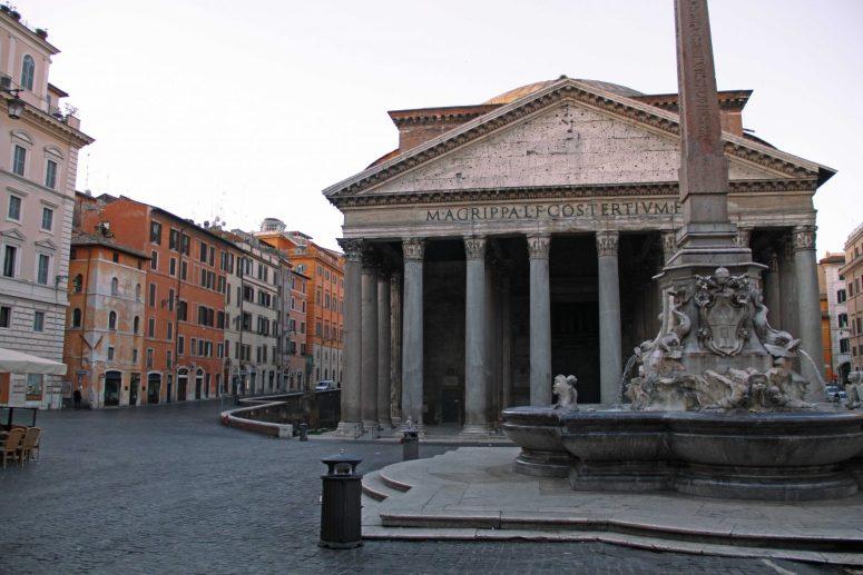 Rome's Pantheon at Sunrise
