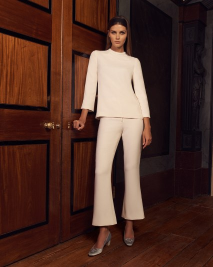 The Joey cropped flare trouser and the Jojo top from Goat's S/S collection