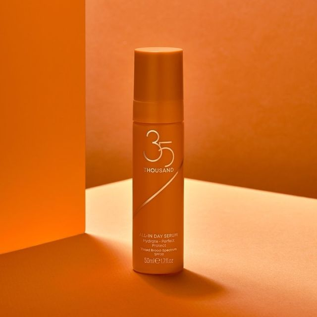 There's a reason founder Misty cites this multitasking heroine as her current 35 Thousand fave: the sheer, blendable tint of our All-In Day Serum hydrates, perfects, and protects, all while leaving a warm smooth glow. The definition of 'one and done.'
