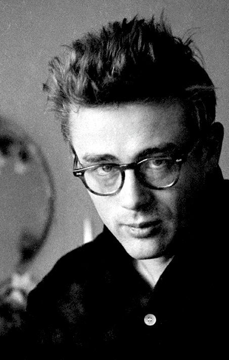 James Dean photographed by Dennis Stock, 1955source:  goldenageestate