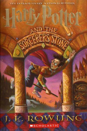 Harry Potter & The Sorcerer's Stone by J K Rowling