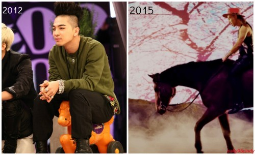 sally95cindy:  When Taeyang stepped his horse game up