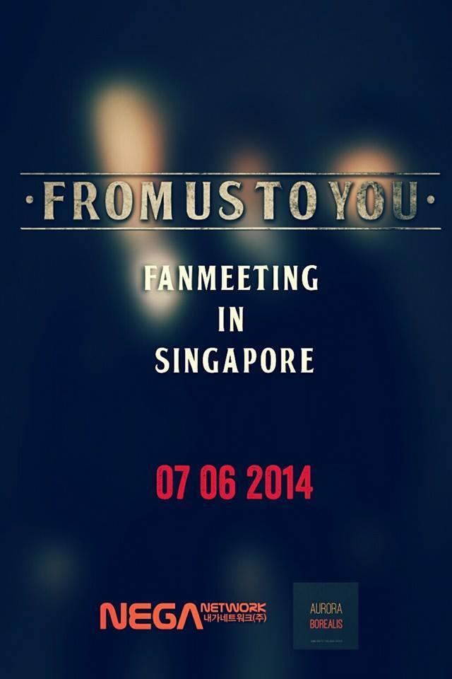 [Agenda|7.6.2014] Fan Meeting enSingapur