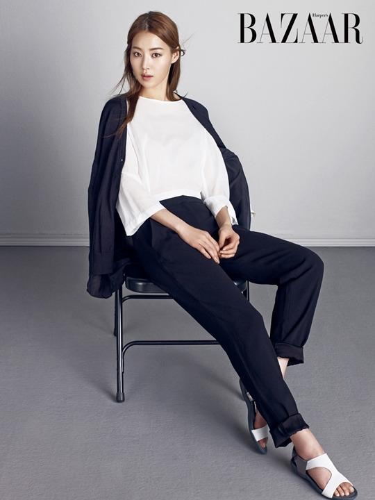 Han Ji Hye - Harper's Bazaar Magazine April Issue '15