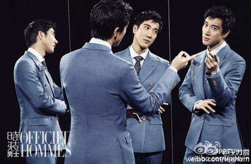 Wang Leehom for L'Officiel Hommes