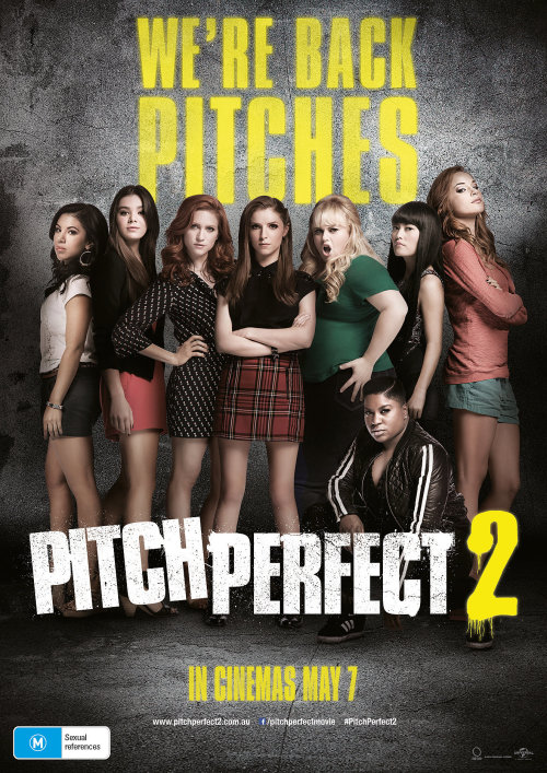 Pitch Perfect 2Reviewed by Miranda BoyerIf you've seen the first Pitch<br /><br /><br /> Perfect movie, than you've come to expect the often crude humor, the<br /><br /><br /> enjoyable yet predictable narrative, camaraderie, and of course the songs. Only<br /><br /><br /> Pitch Perfect 2 is way funnier and<br /><br /><br /> the music will blow your shorts off. While the plot is a bit Hollywood streamlined, the journey<br /><br /><br /> to the end is what makes this film stand out. The majority of the former cast<br /><br /><br /> has returned for the second film and all in all every character feels fleshed out.<br /><br /><br /> There are few sequels worth praising in my book, but this film not only has<br /><br /><br /> touching goosebumpy moments, but also hilarity that will bring a tear to your<br /><br /><br /> eye. There are even underlying themes about friendship, love, and the reality<br /><br /><br /> about what life is like outside of college. This is all accomplished while<br /><br /><br /> still feeling refreshing despite following the same formula as the first. The sequel starts off with the Barden Bellas singing for the<br /><br /><br /> President of the United States (The actual Obama's were shown) where a more<br /><br /><br /> then embarrassing incident occurs involving Fat Amy's (Rebel Wilson) lack of<br /><br /><br /> undergarments during a pants splitting moment on stage.  Due to the repercussions of the event, public<br /><br /><br /> humiliation not being enough, the Belles won't be able to continue to compete<br /><br /><br /> unless they win the International A Cappella Championships in Copenhagen. There<br /><br /><br /> they will have to beat out competition, Das Sound Machine, a formidable<br /><br /><br /> opponent with intense choreography and vocal precision. Beca (Anna Kendrick) has a bit of a secret this time around,<br /><br /><br /> she's working as an intern for a production studio and attempting to impress.<br /><br /><br /> There is fresh blood with newcomer Hailee Steinfeild who plays a freshman<br /><br /><br /> legacy to the Bellas. Lastly, let's not forget some of the guest appearances<br /><br /><br /> including, Snoop Dogg, Katey Sagal, and the Green Bay Packers, just to name a<br /><br /><br /> few. There were so many great parts, and among the best was the<br /><br /><br /> finale at the world championships where the film moved my movie companion to<br /><br /><br /> tears! Love it or hate it, but really just love it. If you're a fan of the<br /><br /><br /> first film, you won't be disappointed in the second. I know I wasn't.
