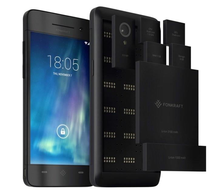Fonkraft Modular Smartphone