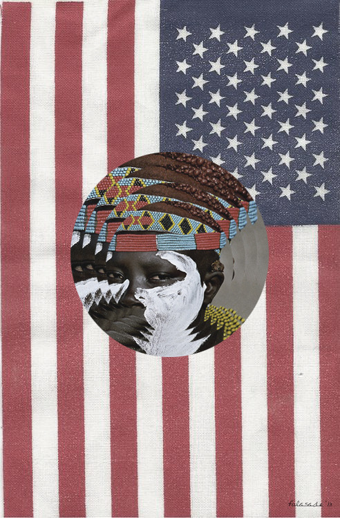 "<br /> ""African - American""<br /> 2013<br /> Art by Folasade<br /> &copy;<br />"