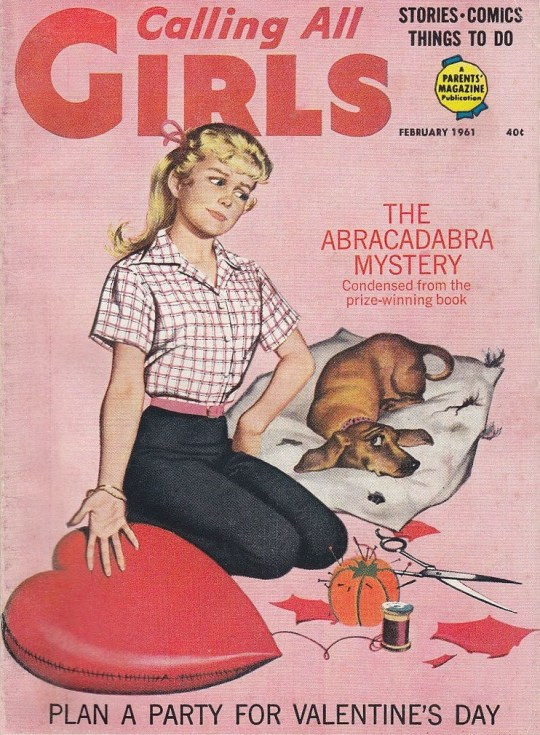 Calling all Girls - February 1961