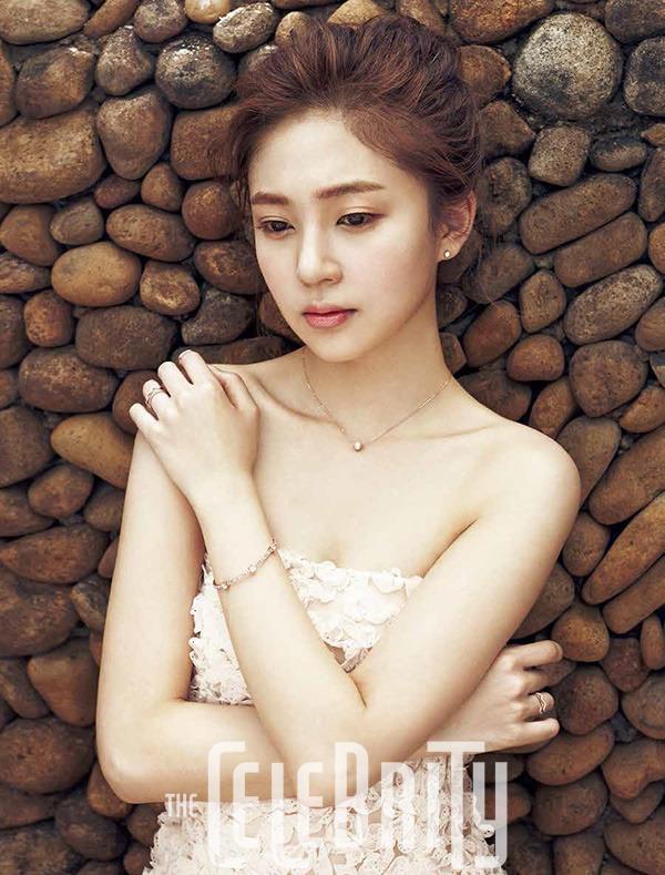 Baek Jin Hee - The Celebrity Magazine March Issue '15