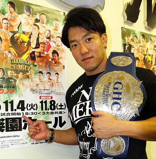 "[NOAH News] As well as the Global League 2014 taking place this month, Pro Wrestling Noah has announced that Daisuke Harada will be defending the GHC Junior Heavyweight belt against Zack Sabre Jr. on November 4th at the Korakuen Hall.Below is the announced card for the show, keep in mind that with Yoshinari Ogawa out with a cervical spine injury the card is being reworked. That is depending on the severity of the injury.  Pro Wrestling Noah ""Global League War 2014″, 11/4/2014 @ Korakuen Hall in Tokyo  (-) GHC Junior Heavyweight Championship Match: [27th Champion] Daisuke Harada vs. [Challenger] Zack Sabre Jr. ~ 7th title defense.    (-) Global League War B Block Match: Muhammed Yone vs. Mikey Nicholls (-) Global League War B Block Match: Yuji Nagata vs. Masato Tanaka (-) Global League War A Block Match: Satoshi Kojima vs. Daisuke Sekimoto (-) Global League War A Block Match: Naomichi Marufuji vs. Takeshi MorishimaNOAH Event Cards for September & October 2014https://puroresuspirit.wordpress.com/2014/09/05/noah-event-cards-for-september-october-2014/NOAH's Global League 2014 Info and listingshttps://puroresuspirit.wordpress.com/2014/09/30/global-league-2014/"