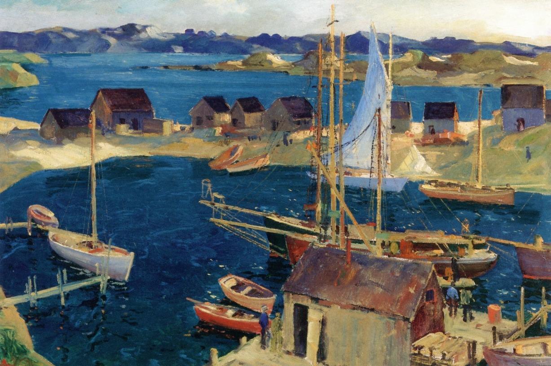 artishardgr: Jonas Lie - The Inner Harbor