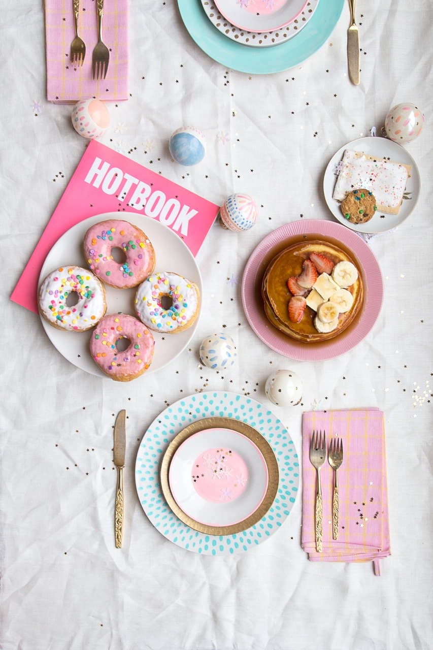 Christmas brunch, full of sweetness and fun. Homeware designed by Maria Marie.