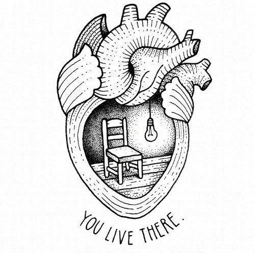 Deep Heart Tumblr Drawings