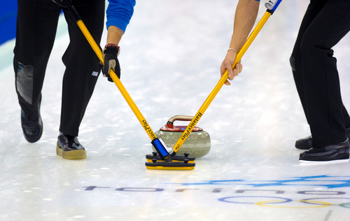 "New Broom Technology Sweeps Through Curling Worldby Brian Owens, Inside ScienceEven though the ice is still the same, and most of the 42-pound stones sent down the ice in each contest still come from the Scottish island of Ailsa Craig, there's a technological controversy brewing in the world of curling. Top players are concerned that a new type of broom makes it too easy to control the direction of the sliding rock, and could damage the ice.After a recent international tournament in Toronto, where players complained about some new brooms and had them removed from play, more than 40 elite teams from around the world signed a pledge not to use brooms with so-called ""directional fabric"" and asked the sport's governing bodies to rule on whether brooms with that fabric should be allowed.[[MORE]]""Strong sweepers who have put in the effort to get bigger, stronger, faster, biomechanically sound and more athletic should be rewarded, not the team with the best technology,"" the statement reads.After a rock is thrown down the sheet, the sweepers might be called on to vigorously rub the ice in its path, to keep it on course and make it travel further.""Depending on the ice surface, the texture of the rock and the ability of the sweepers, they could get it to go between 4 and 10 feet further,"" said Gerry Peckham, high performance director at Curling Canada.Sweeping helps the rock in three ways. It clears small bits of dirt and debris from the path of the rock, scrubs off the frost that forms on the ice surface and melts a small amount of the ice to lubricate the path. All three aspects help reduce friction in the path of the rock, so that it can slide faster, farther and straighter down the ice.In curling's early days, players used large straw brooms mainly to sweep snow off of outdoor rinks. In the mid-1970s, they began to switch to more effective and efficient hog hair and horse hair brushes, and then to synthetic nylon pads. Those pads have gotten smaller and firmer over the years, and now often have some kind of reflective backing behind them to reflect heat down towards the ice. But none of these advancements caused the kind of uproar that the new ""directional fabrics"" have in the past few weeks.""We haven't seen anything in the past 50 years that has set off alarm bells like we've seen recently,"" said Peckham.Scott Taylor, president of BalancePlus, a curling equipment supplier, said ""directional"" fabric is just a slang term developed by players to describe the new brooms – it's not actually different from the normal broom head, except that the nylon cover has been reversed so that the waterproof coating on the back of the fabric is in contact with the ice.In order to make the front side of a fabric smooth, weavers use different-sized yarns for the horizontal and vertical parts of the weave, which creates little hills and valleys on the reverse side. Once the waterproof coating is applied, that side of the fabric becomes much stiffer than the front. So when it is rubbed along the ice, ""it acts more like a file than sandpaper, and cuts microscopic lines into the pebble,"" the tiny bumps that are part of the surface of ice prepared for curling, said Taylor. That seems to be enough to dramatically alter the behaviour of the rock.It was prototype brooms made by BalancePlus that were the focus of complaints at the Toronto tournament, but Taylor says they were never intended for sale, and were meant to demonstrate the problems that the reversed fabrics could cause. Players said the brooms allowed sweepers to ""steer"" the rock much more than they were comfortable with, and even slow them down.The brooms have been compared to high-tech drivers that allow amateur golfers to hit the ball as far as a pro, or the advanced full-body swimsuits that were banned from competition in 2010 for providing an unfair advantage.""It's gone too far from what people want from curling,"" said Taylor. ""It's all within the rules, but just doesn't suit the sport.""Curling has no formal rules on what equipment players can use, as long as they are not deliberately damaging the ice. But Peckham said the national and international curling federations are working towards doing some formal testing on new equipment technologies, so that they can rule on whether it should be allowed or not, but they are currently not set up for that kind of work.""We don't have any laboratories to test new equipment, but we will have to start heading in that direction,"" he said. ""No one foresaw that technology had the ability to affect play this much.""Top Image: Paolo Bona / Shutterstock.com"