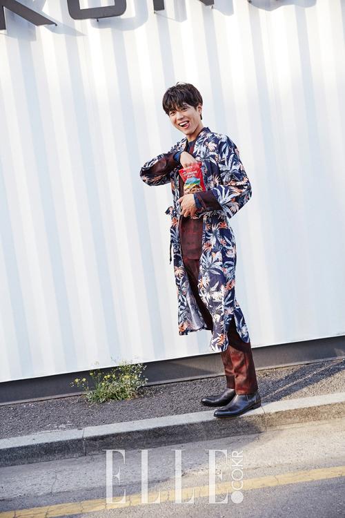 Park Bo Gum - Elle Magazine July Issue '15