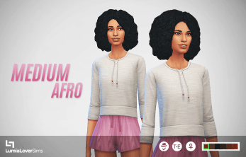 Coiffures femme Sims 4